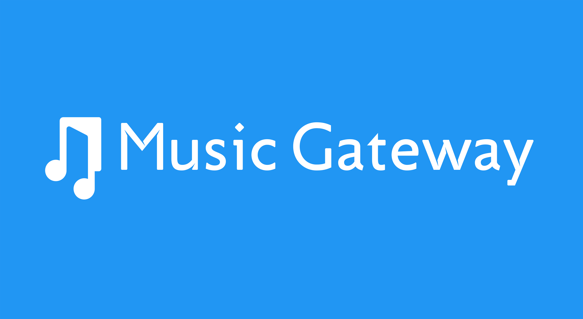 Music Gateway - your entrance into the UK market!
